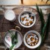 Biji Salak (Sweet Potato Dumplings with Coconut Sauce)