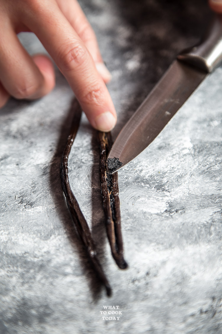 Scraping Vanilla Beans