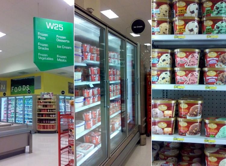Kemps ice cream at Target