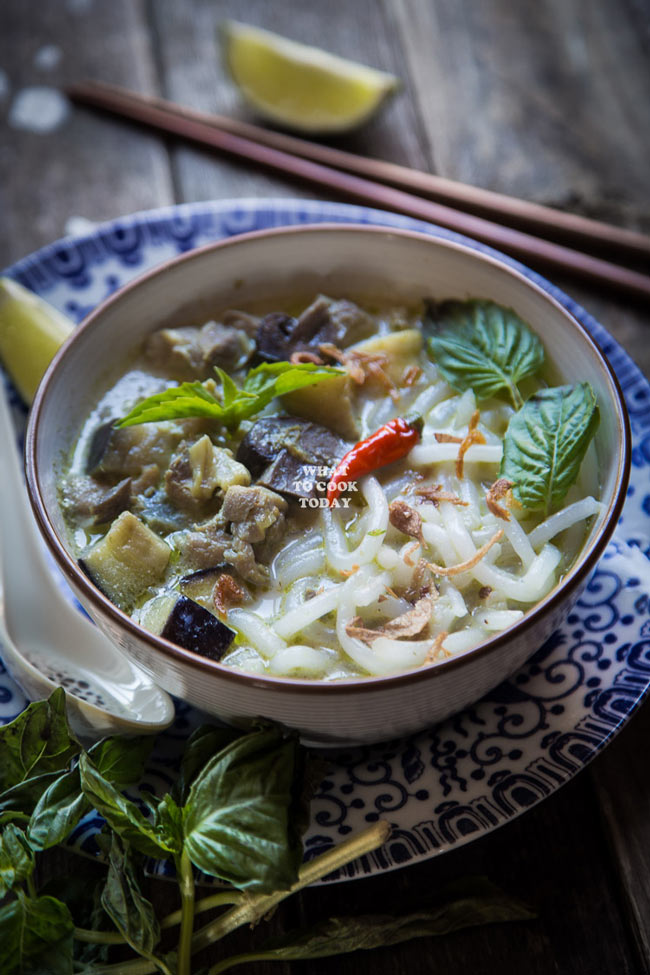 Green Curry Laksa