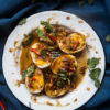 How to make Khai Look Khoey (Thai Eggs with Tamarind Sauce). Delicious and super easy Thai Son-in-law eggs recipe. Click through for full recipe and step by step instructions