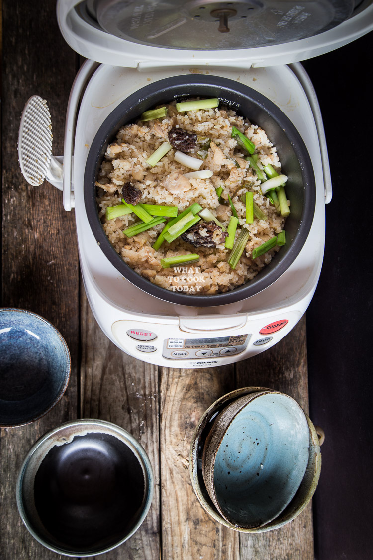 How To Make Onepot Miso Chicken Rice And Morels Delicious And Easy One