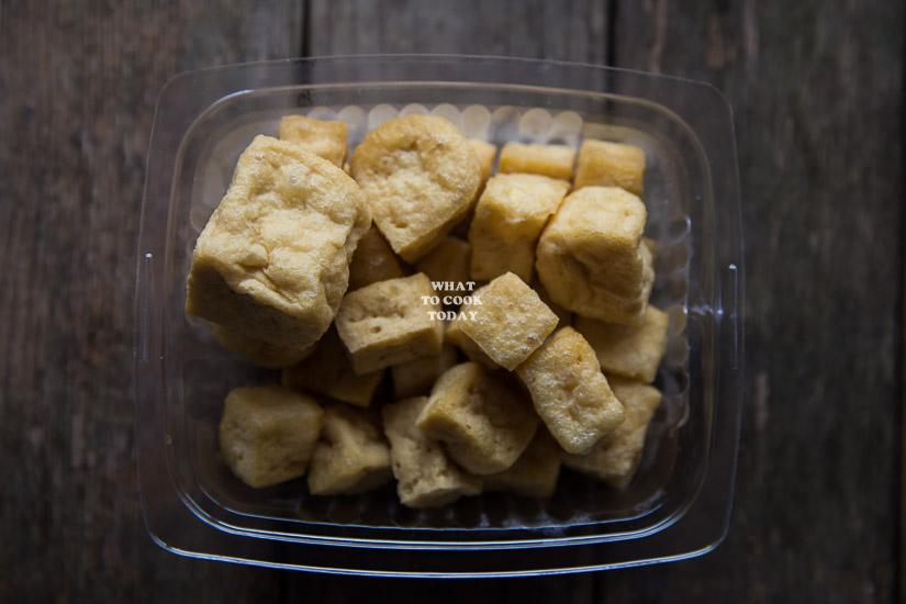 Tofu puffs