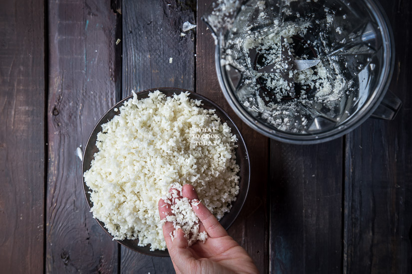 Cauliflower fried rice #GrillingMadeSimple #ad