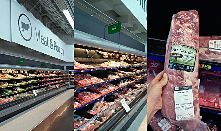 Smithfield at Walmart #AllNaturalPork #ad