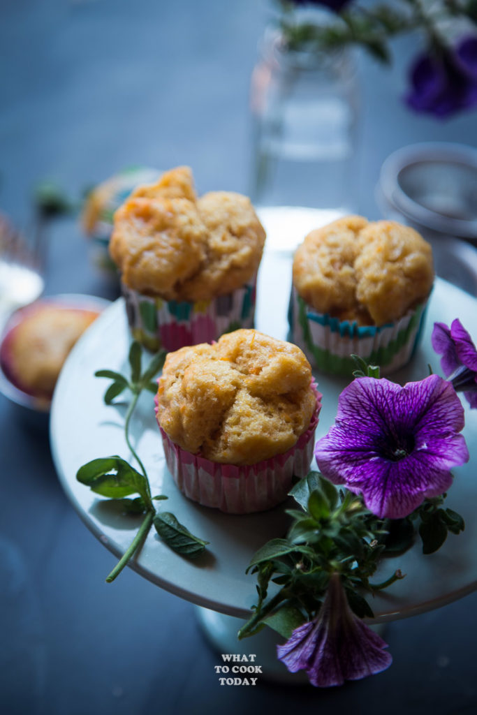 Kue Moho Ubi (Steamed Sweet Potato Cup Cakes)