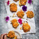Easy Sweet Potato Scallion Fritters