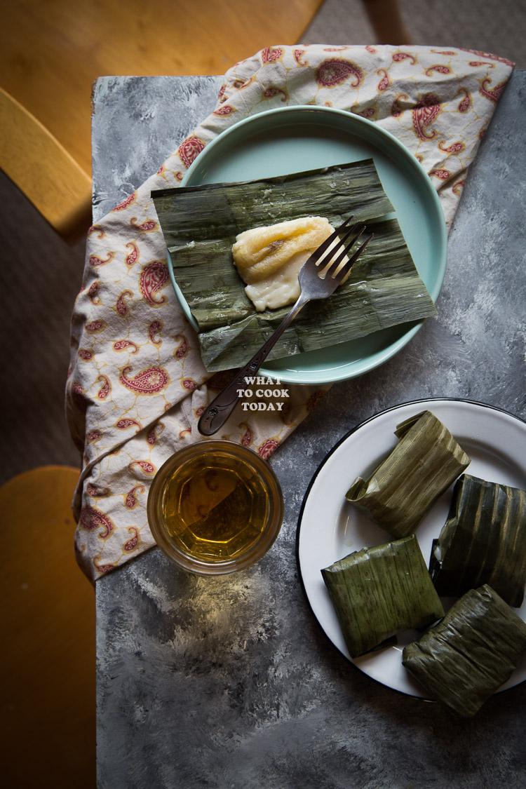 Kue Nagasari Indonesian Rice Flour Cake With Banana