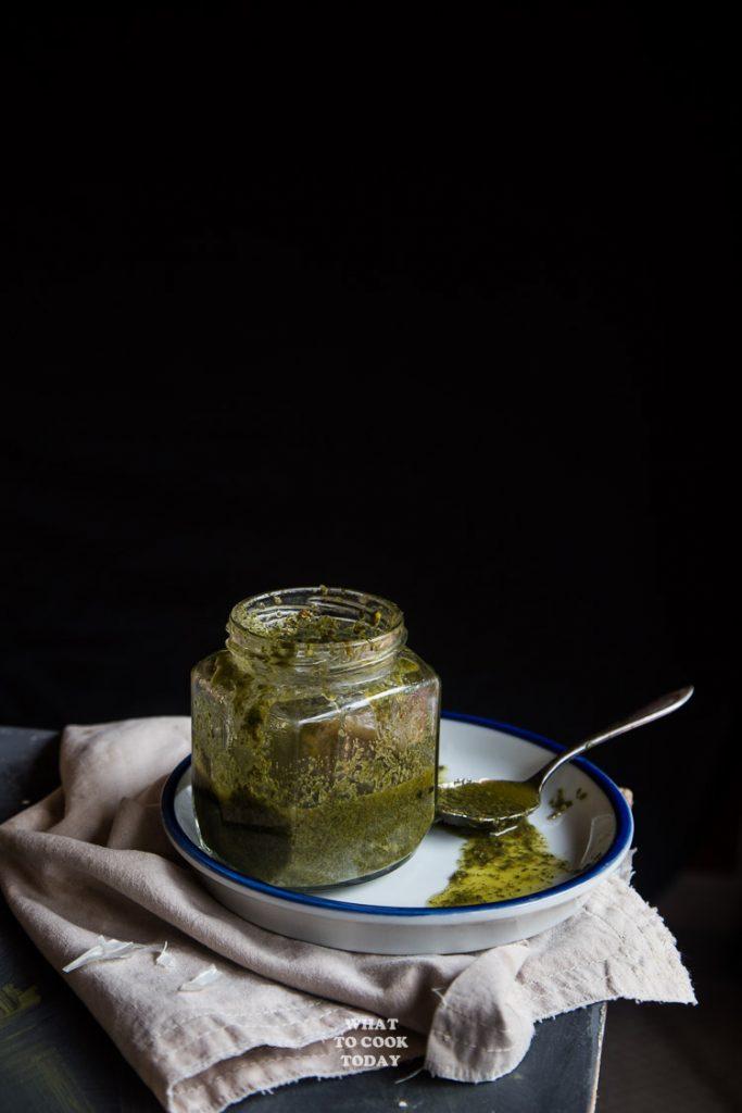 Homemade Lahpet (Burmese Fermeted Green Tea Leaves)