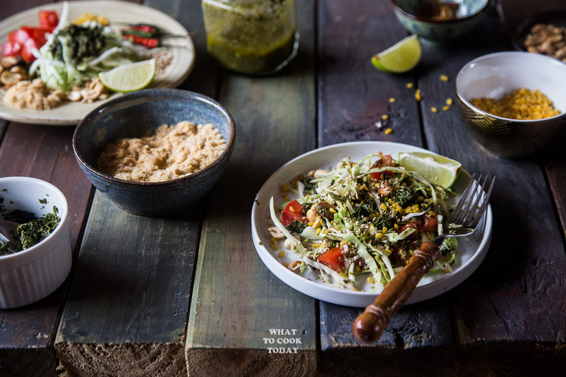 Lahpet Thoke (Burmese Pickled Tea Leaves Salad)