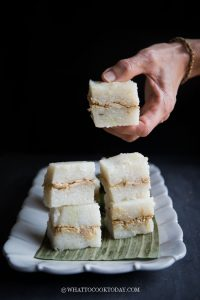 Easy Lemper Ayam (Sticky Rice with Chicken Floss)