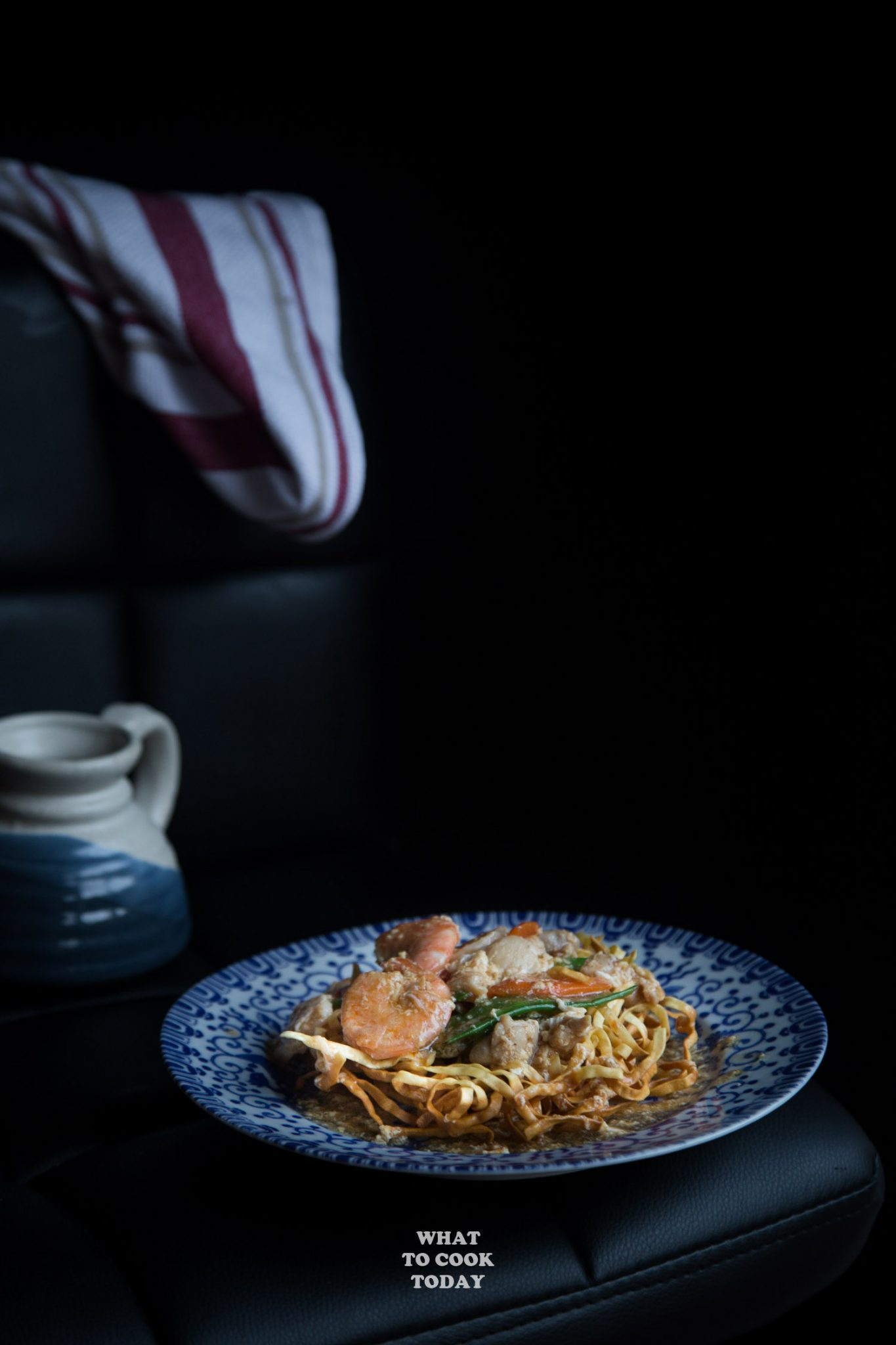 Crispy E Fu Noodle And Seafood Gravy Ifumie Binjai What To Cook Today