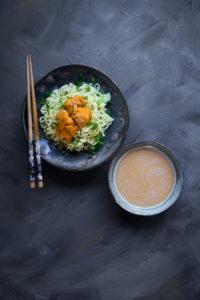 Sea Urchin Tsukemen Ramen (Dipping Noodle)