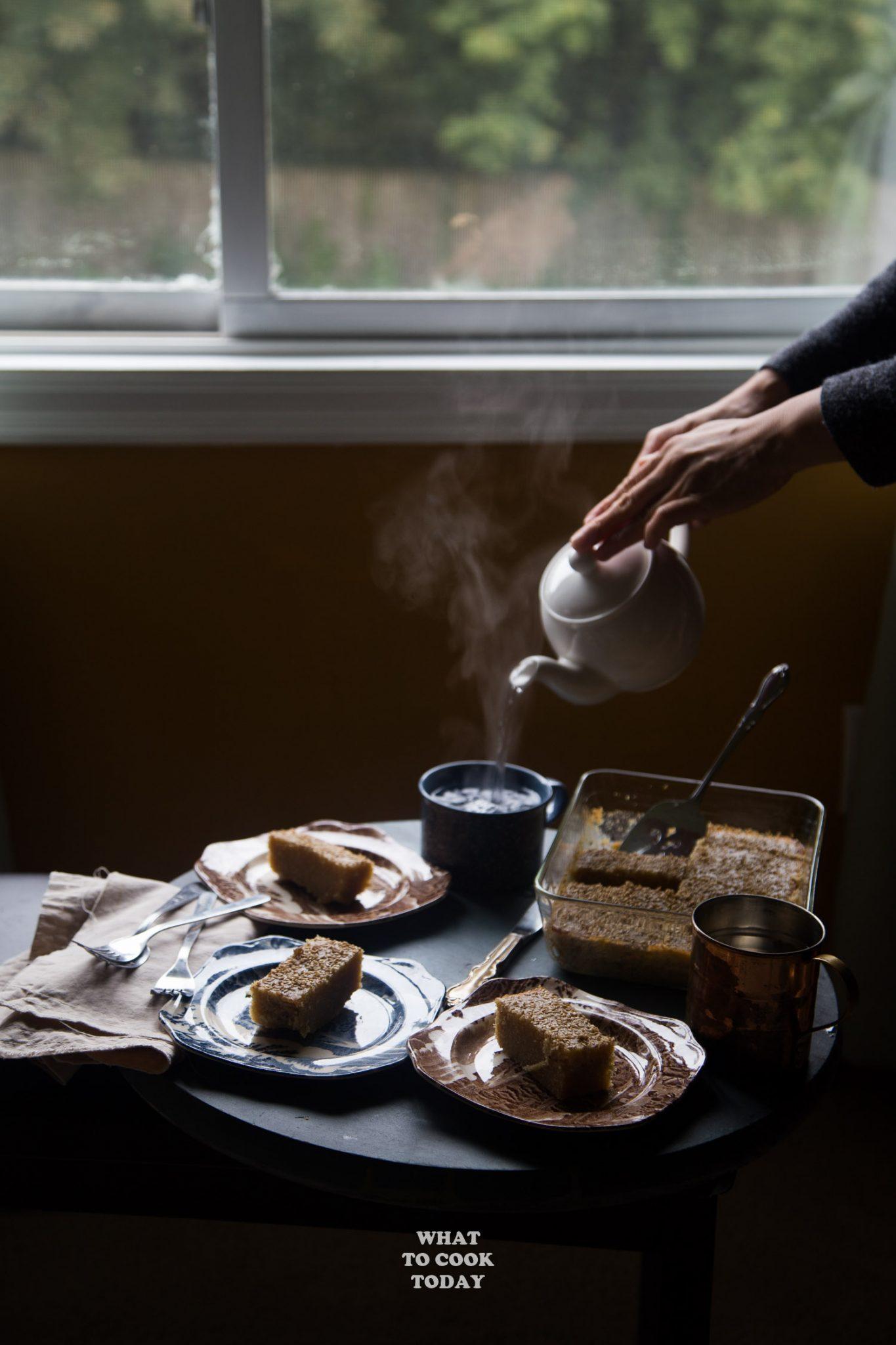Make Burmese Semolina Cake