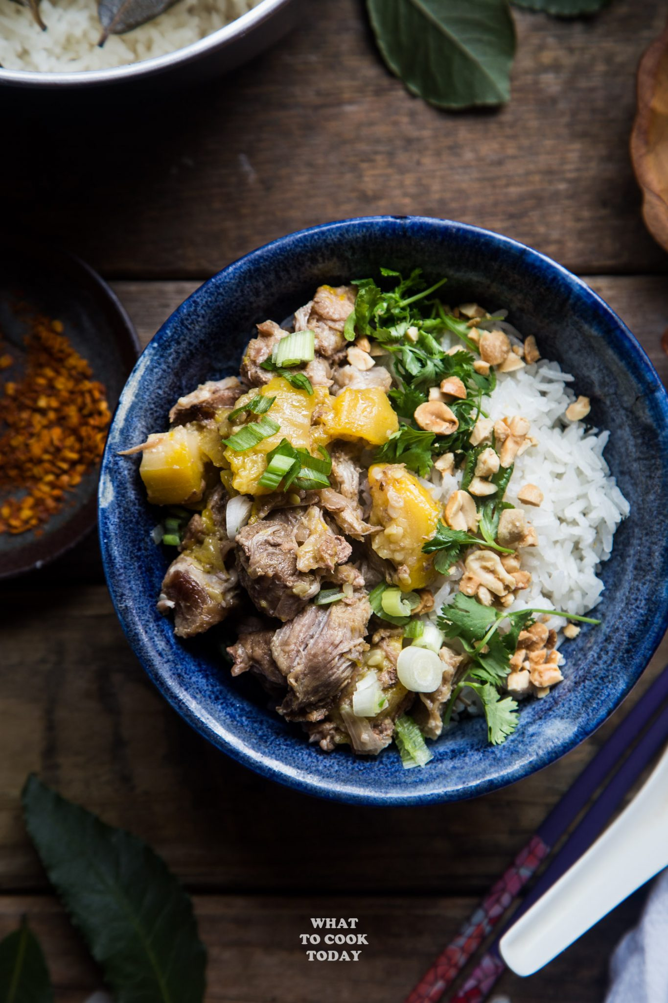 Slow-Cooked Lemongrass Pork with Coconut Rice #ad #AllNaturalPork