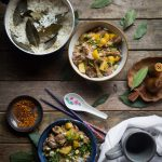 Slow-Cooked Lemongrass Pork with Coconut Rice