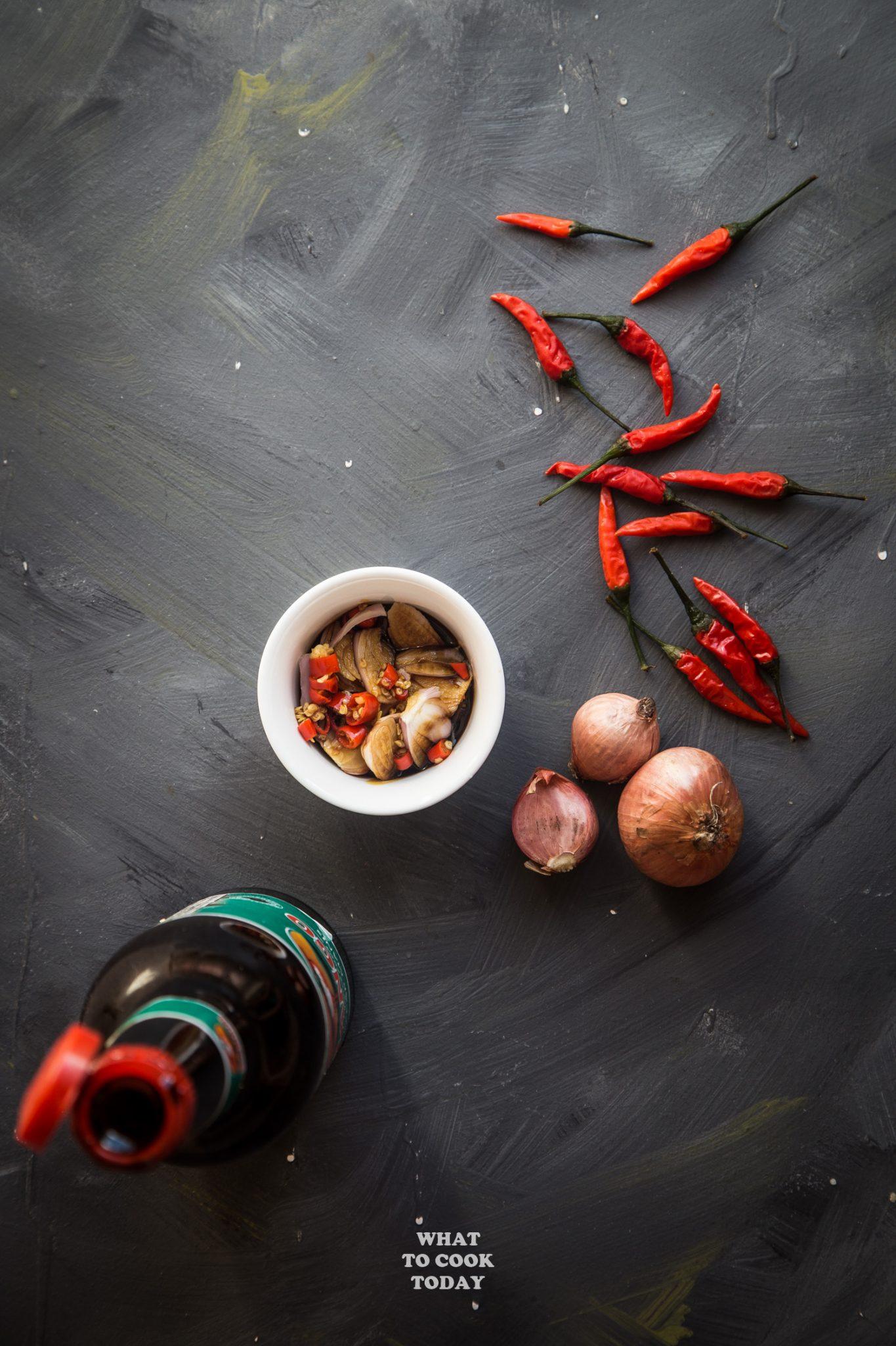 Sambal Kecap Pedas (Spicy Sweet Shallots Chili Sauce) #chili #sambal #indonesianrecipe