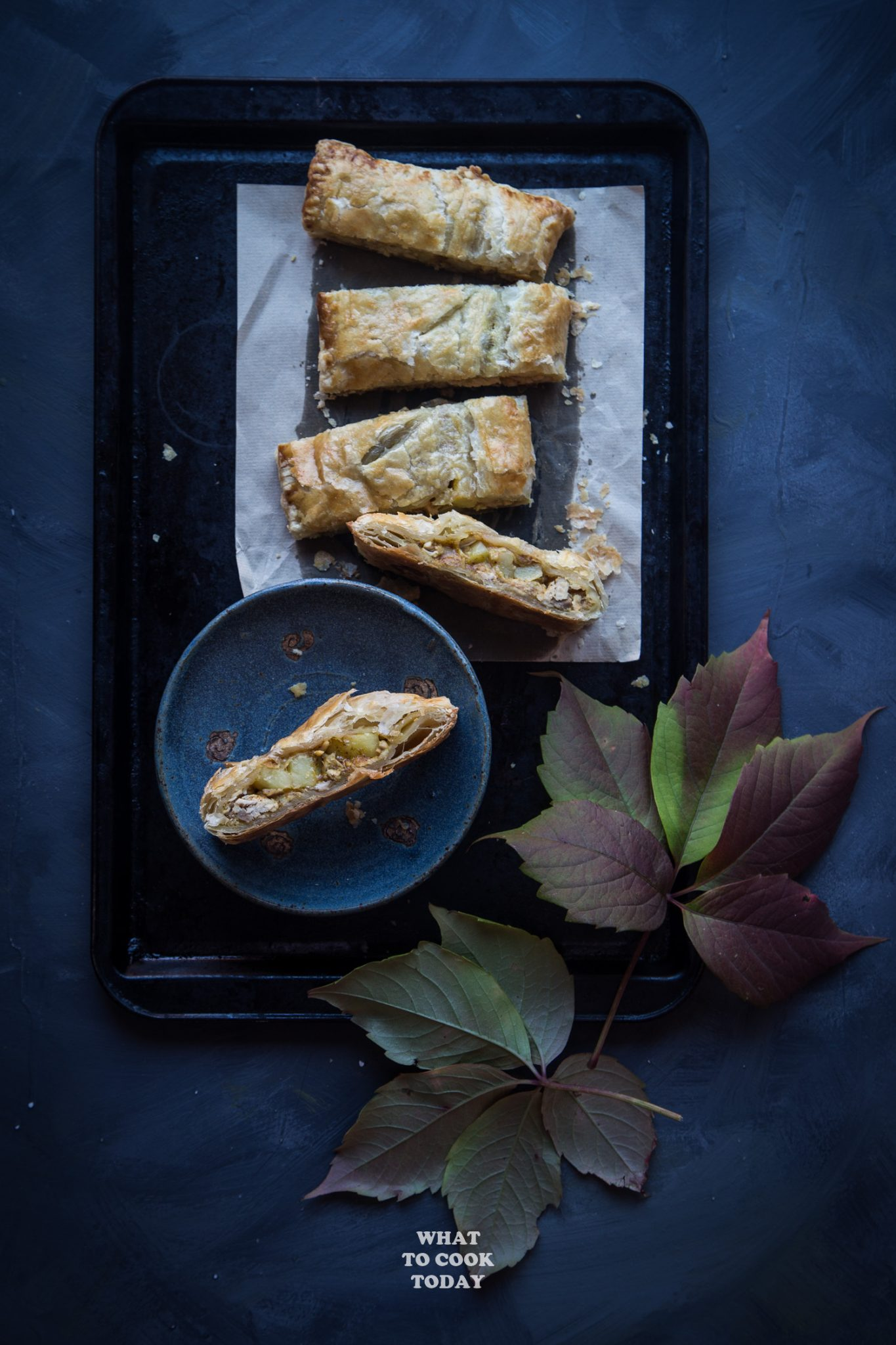 Thanksgiving Leftover Turkey Curry Puff Pastry #thanksgiving #leftover #turkey #puffpastry