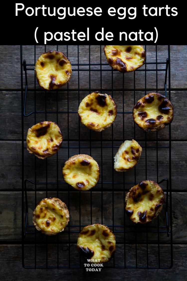 Easy Pasteis De Nata / Portuguese Egg Tarts #dessert #pasteldenata #portugueseeggtarts