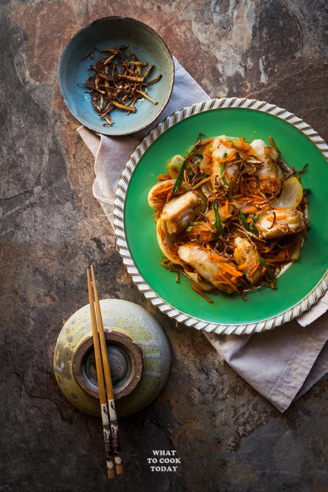 Pan Fried Cod Fish With Crispy Ginger What To Cook Today