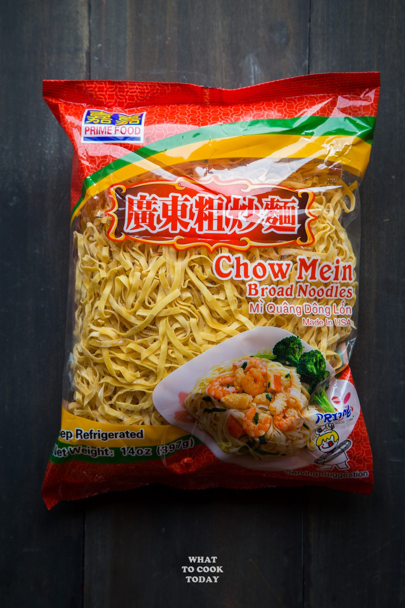 Prime Food Chow Mein Noodles