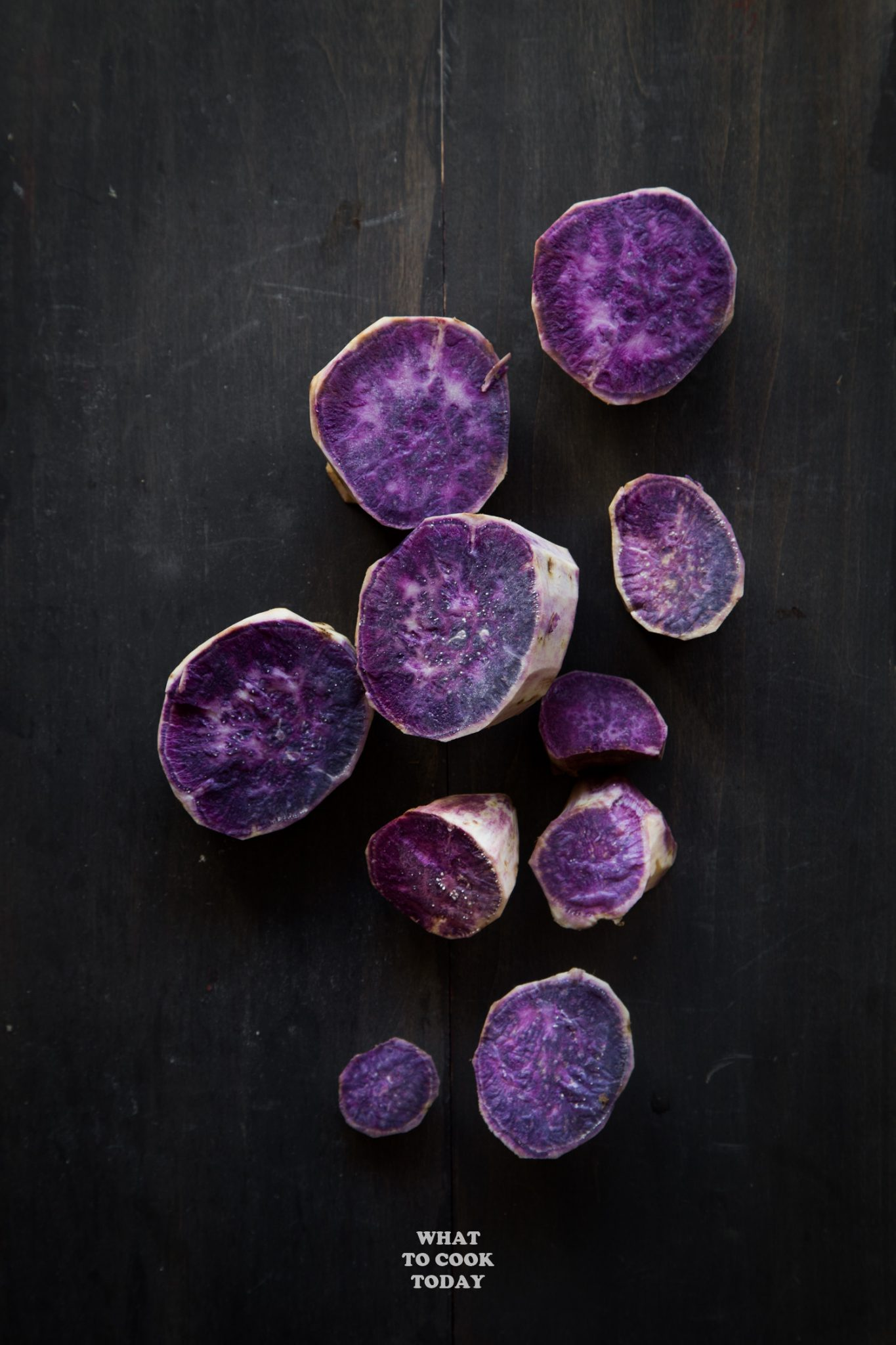 Okinawan Purple Sweet Potatoes