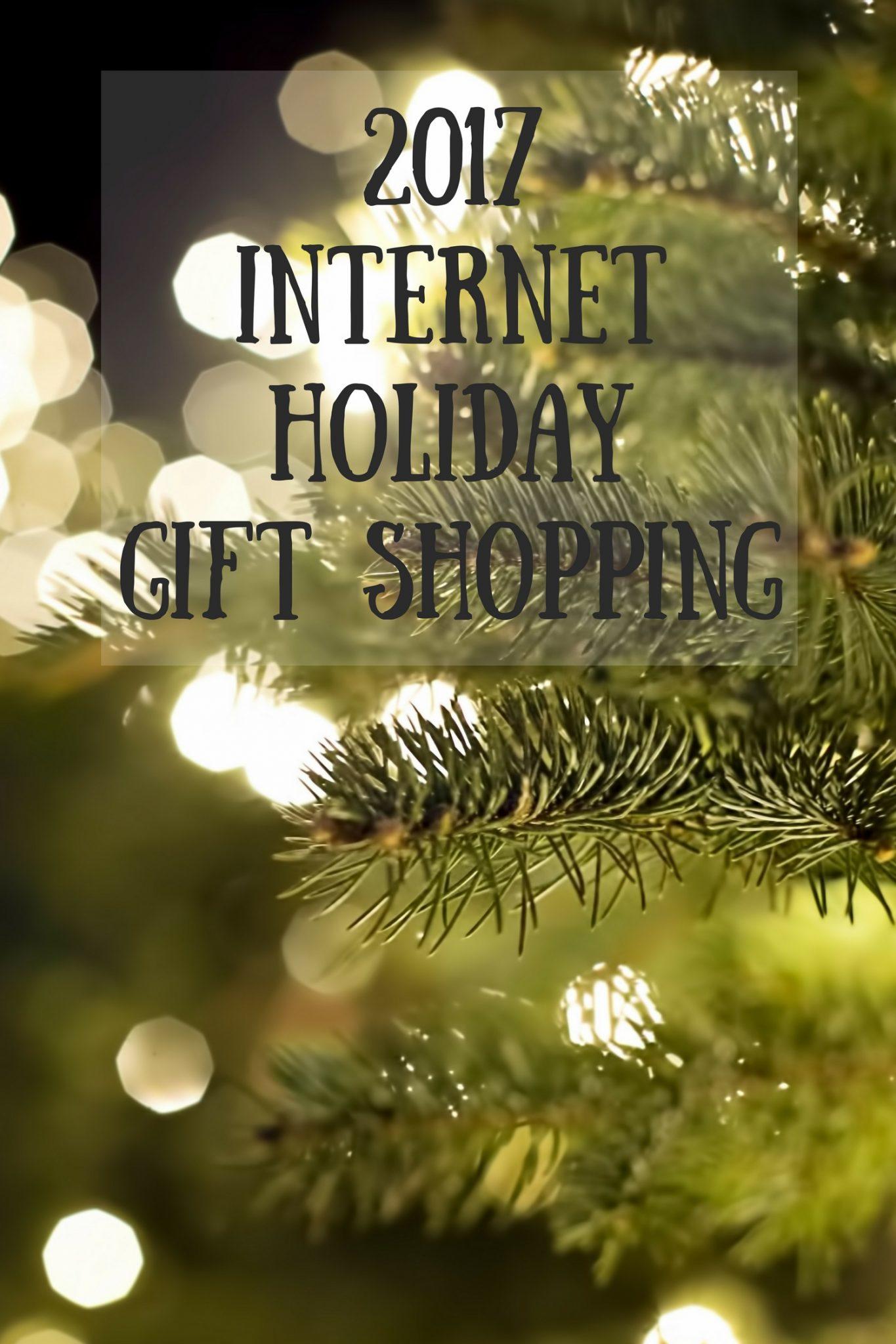 2017 Internet Holiday Gift Shopping