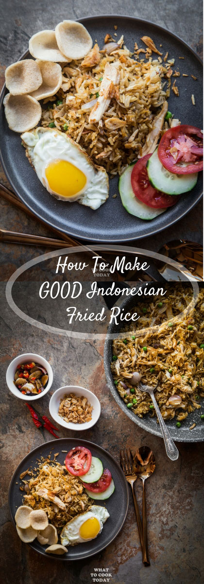 How to Make Good Indonesian Nasi Goreng (Fried Rice) - Learn how to make delicious and authentic Indonesian Nasi Goreng that will make you ditch the take-out forever. Perfect for any day of the week.