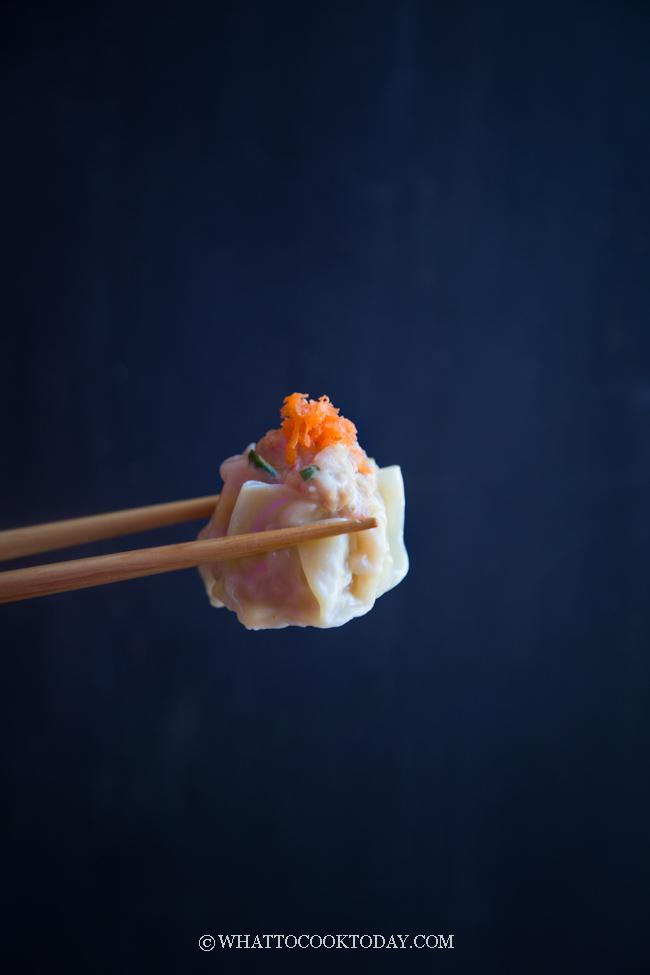 The Best Pork and Shrimp Siu Mai (Steamed or Instant Pot) #dimsum #instantpot #pressurecooker #siumai #shumai