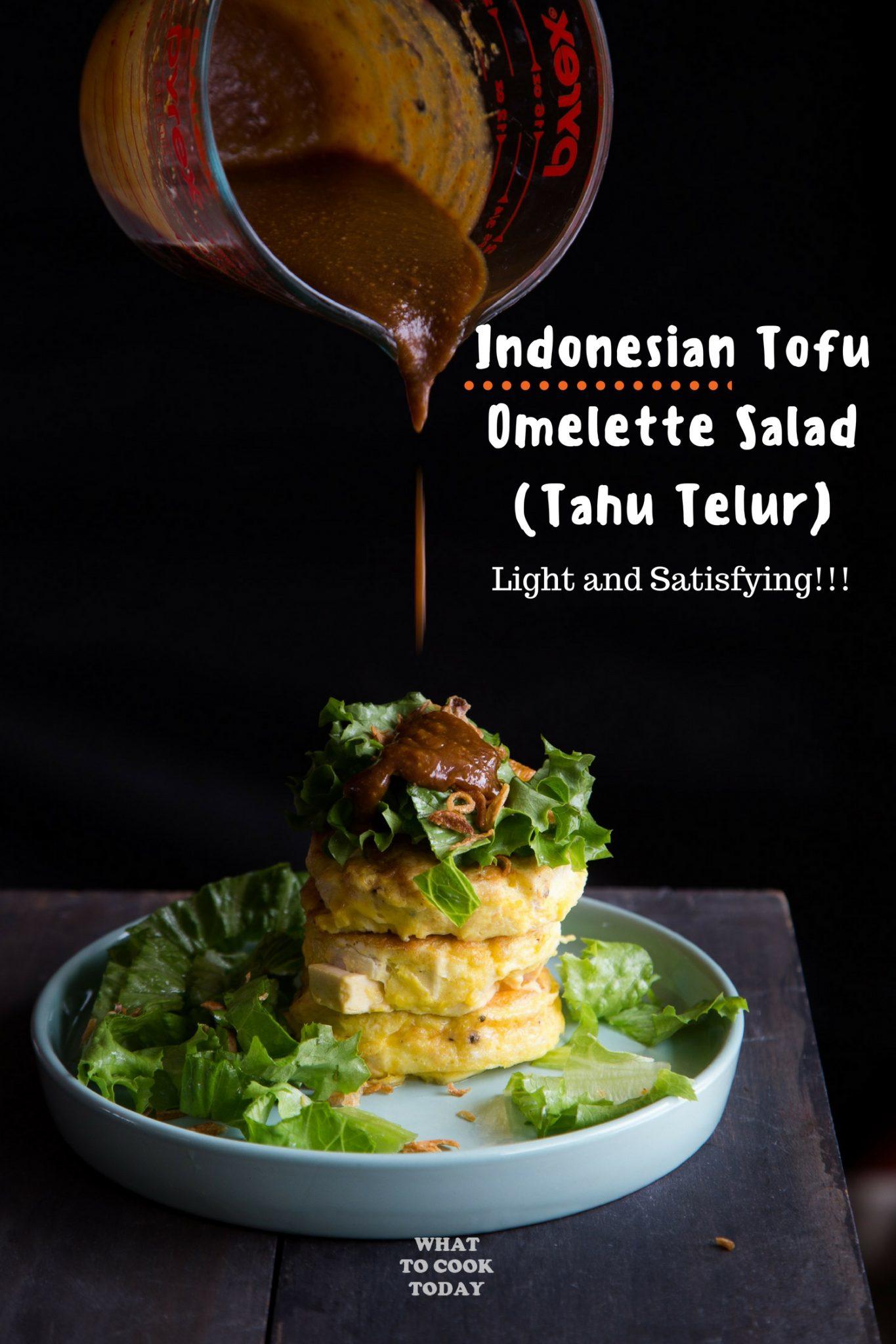Tahu Telur (Indonesian Tofu Omelettes) #tofu #omelet #omelettes #eggs #easyrecipe #indonesianfood