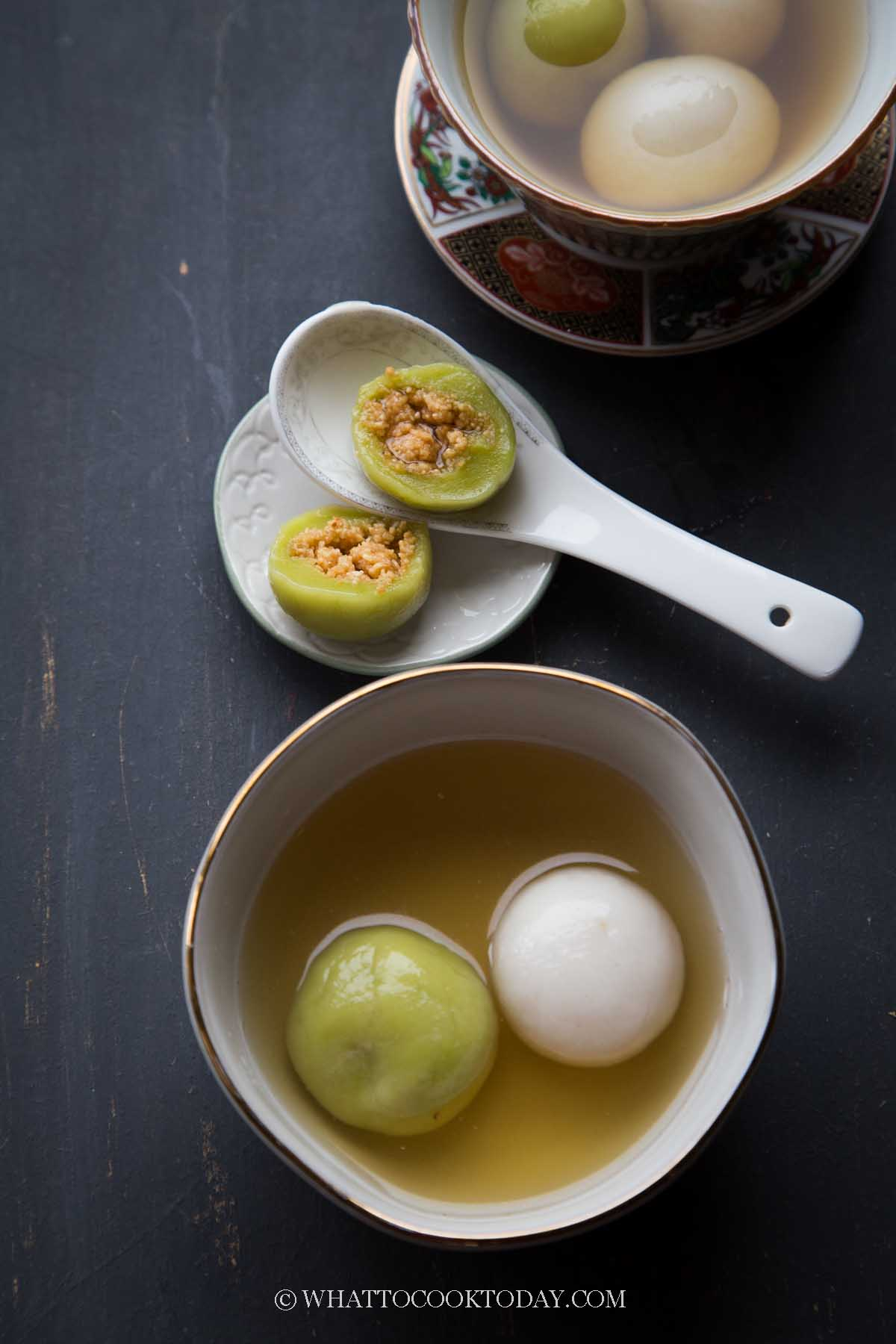 Tang Yuan with Peanut Filling