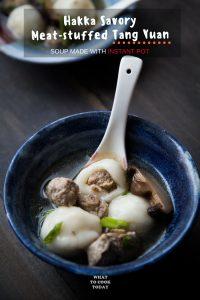 Hakka Savory Meat-Stuffed Tang Yuan