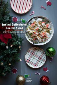 Surimi Cellophane Noodle Salad