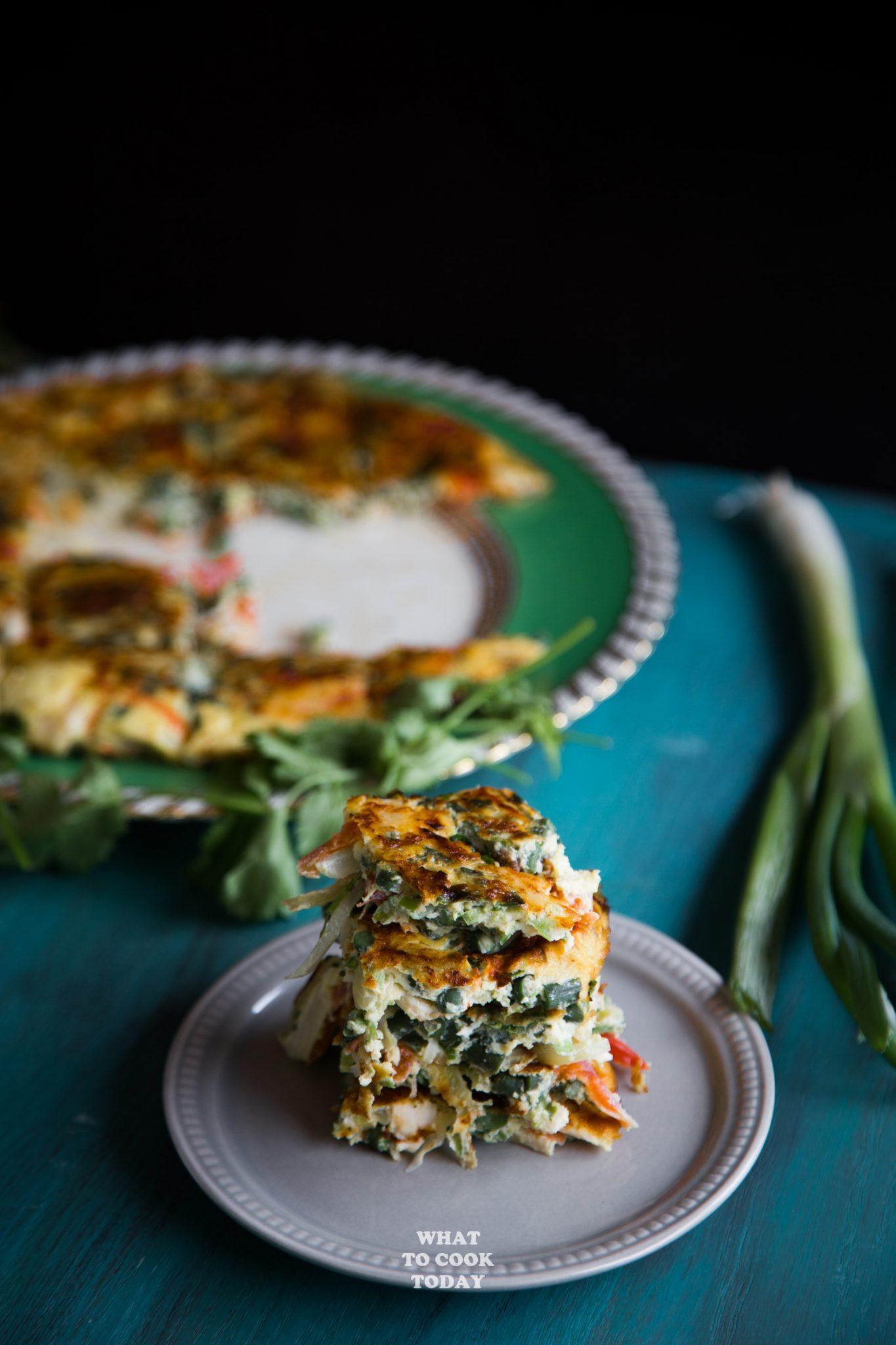 Laotian Omelette #eggs #omelette #laos #easyrecipes