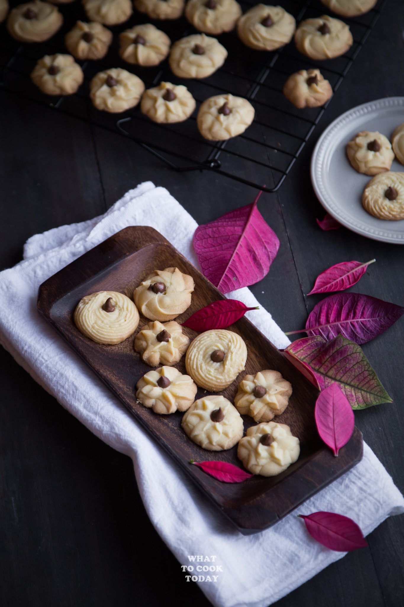 Kue Semprit Susu (Indonesian Butter Cookies)