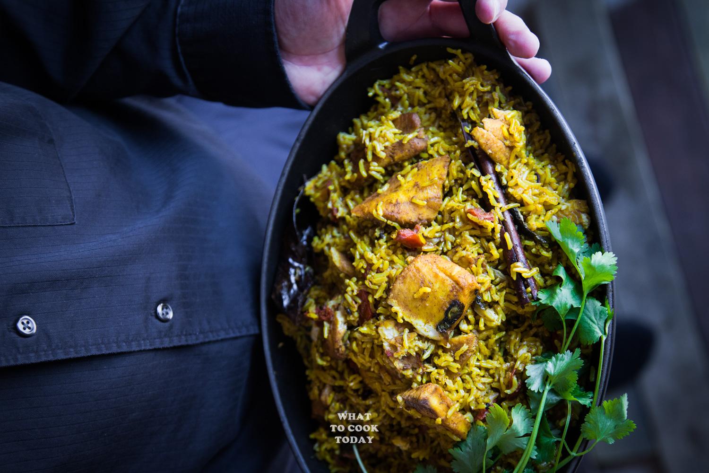 Pressure Cooker Fish Biryani (with Brown Basmati Rice) #basmati #rice #biryani #instantpot