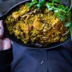 Pressure Cooker Fish Biryani (with Basmati Brown Rice)