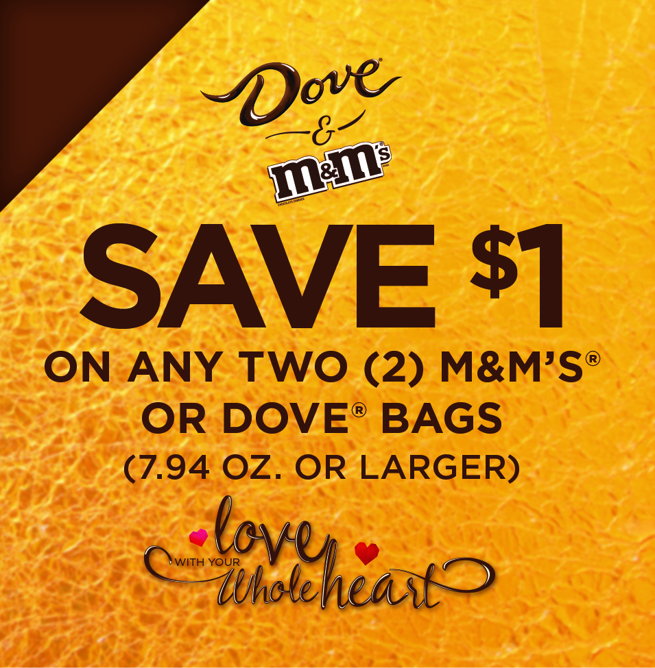 M&M and Dove Coupon