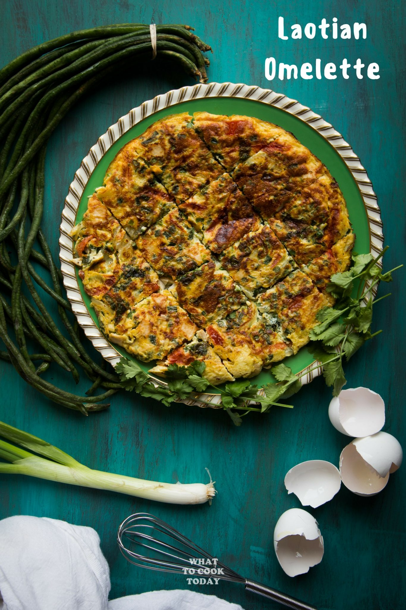 Laotian omelette what to cook today laotian omelette eggs omelette laos easyrecipes forumfinder Image collections
