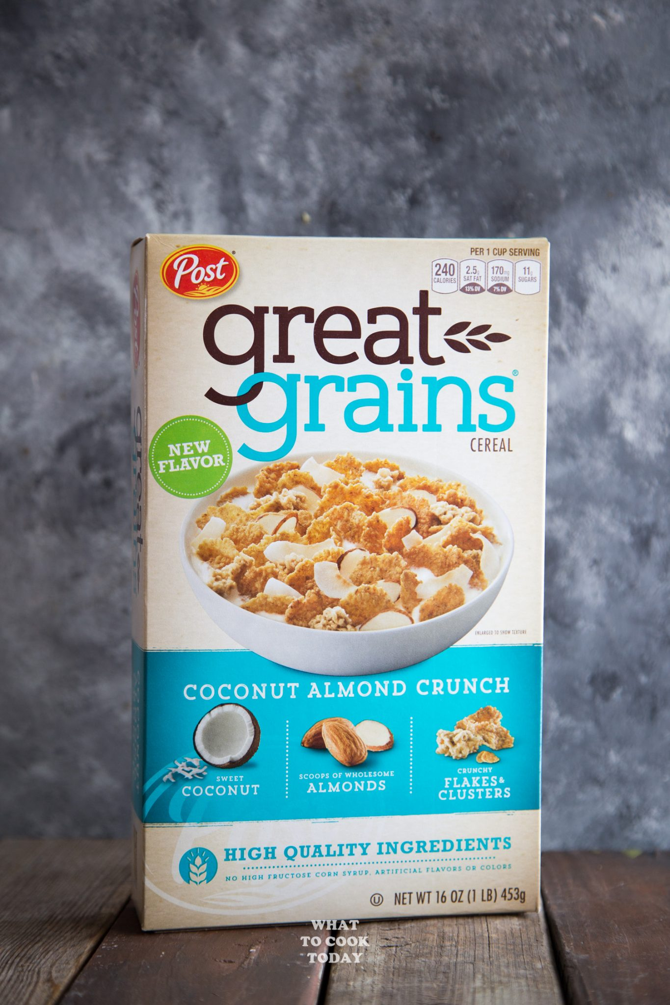 Post Great Grains Coconut Almond Crunch #ad #CelebrateGoodness #GreatGrainsGreatYear #quinoa