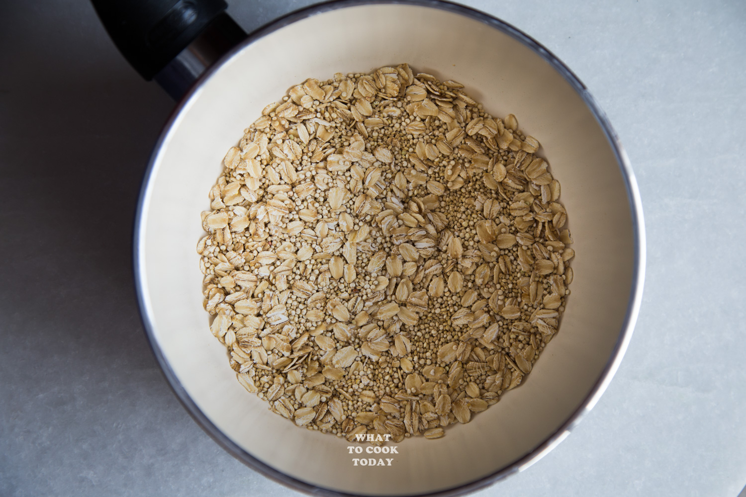 Quinoa and Oats Mixture