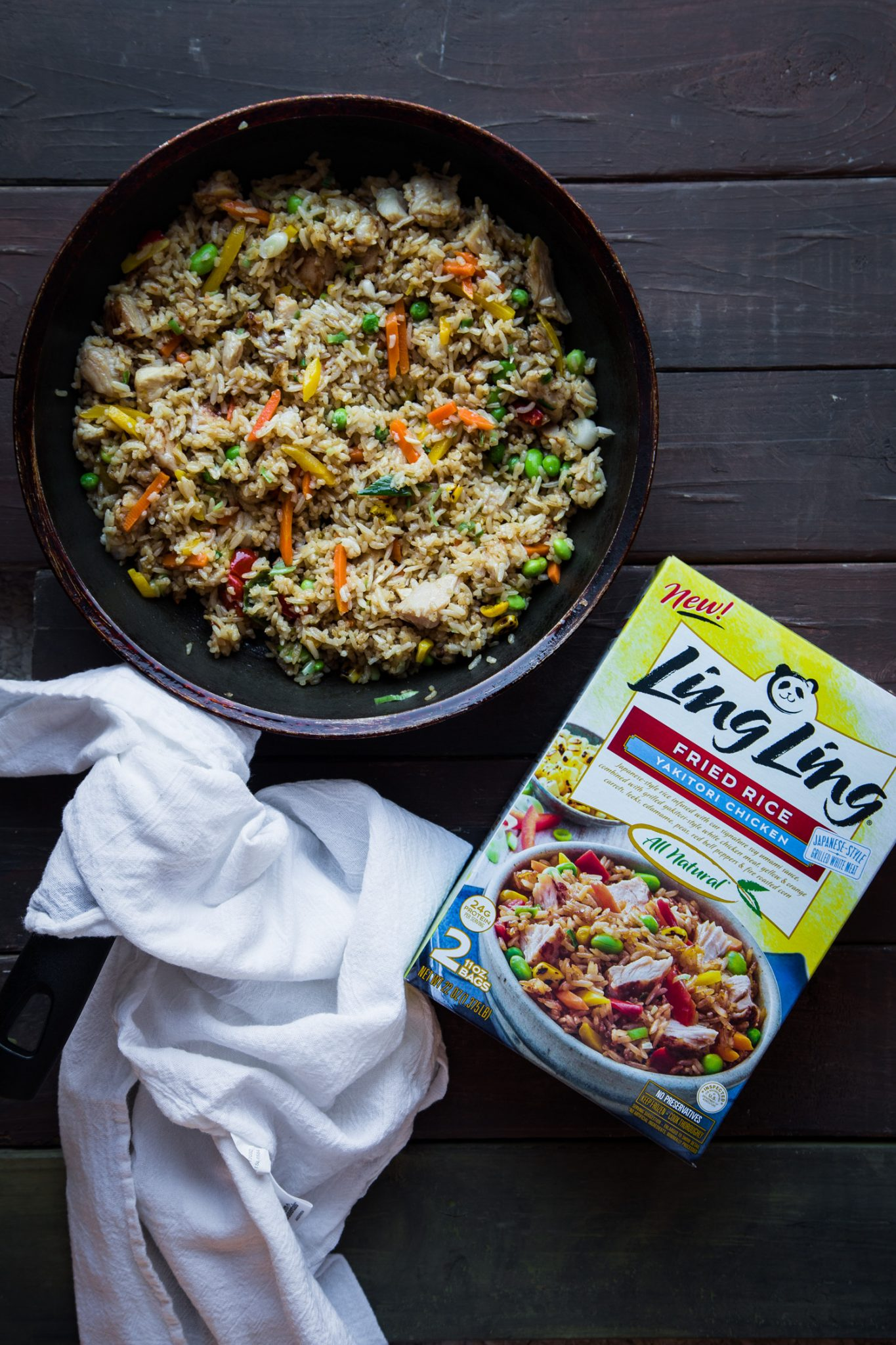 Yakitori Chicken Fried Rice #ad #LingLingAsianFood #LL #asianfood #easymeals #friedrice #chopsticks