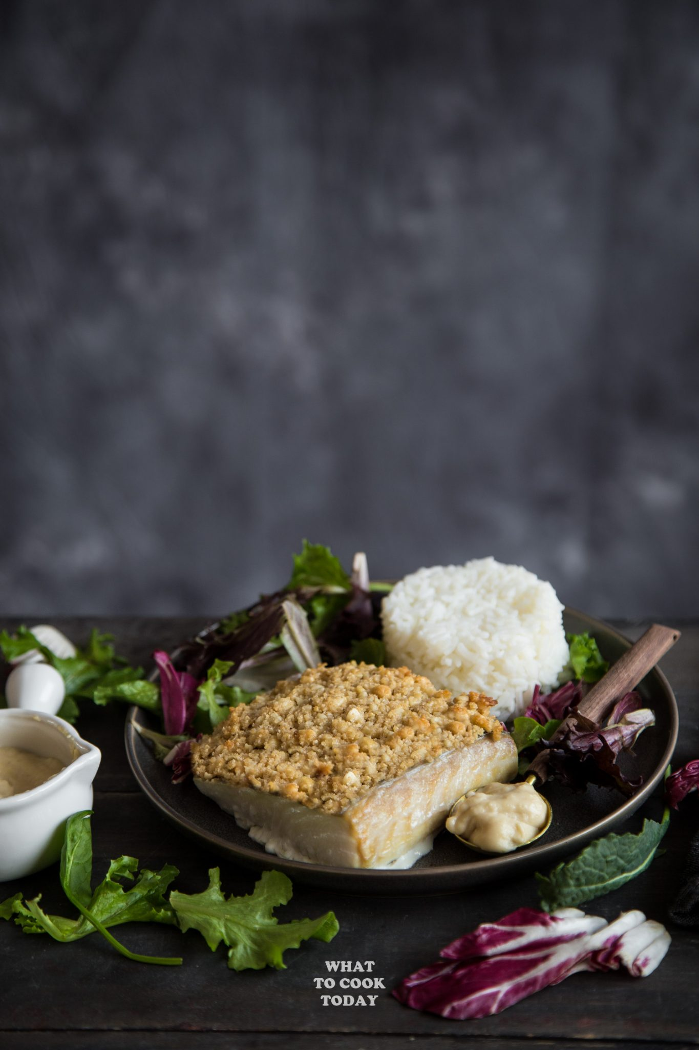 Brown Butter Macadamia Nut Crusted Alaska Halibut #AskForAlaska #IC #ad