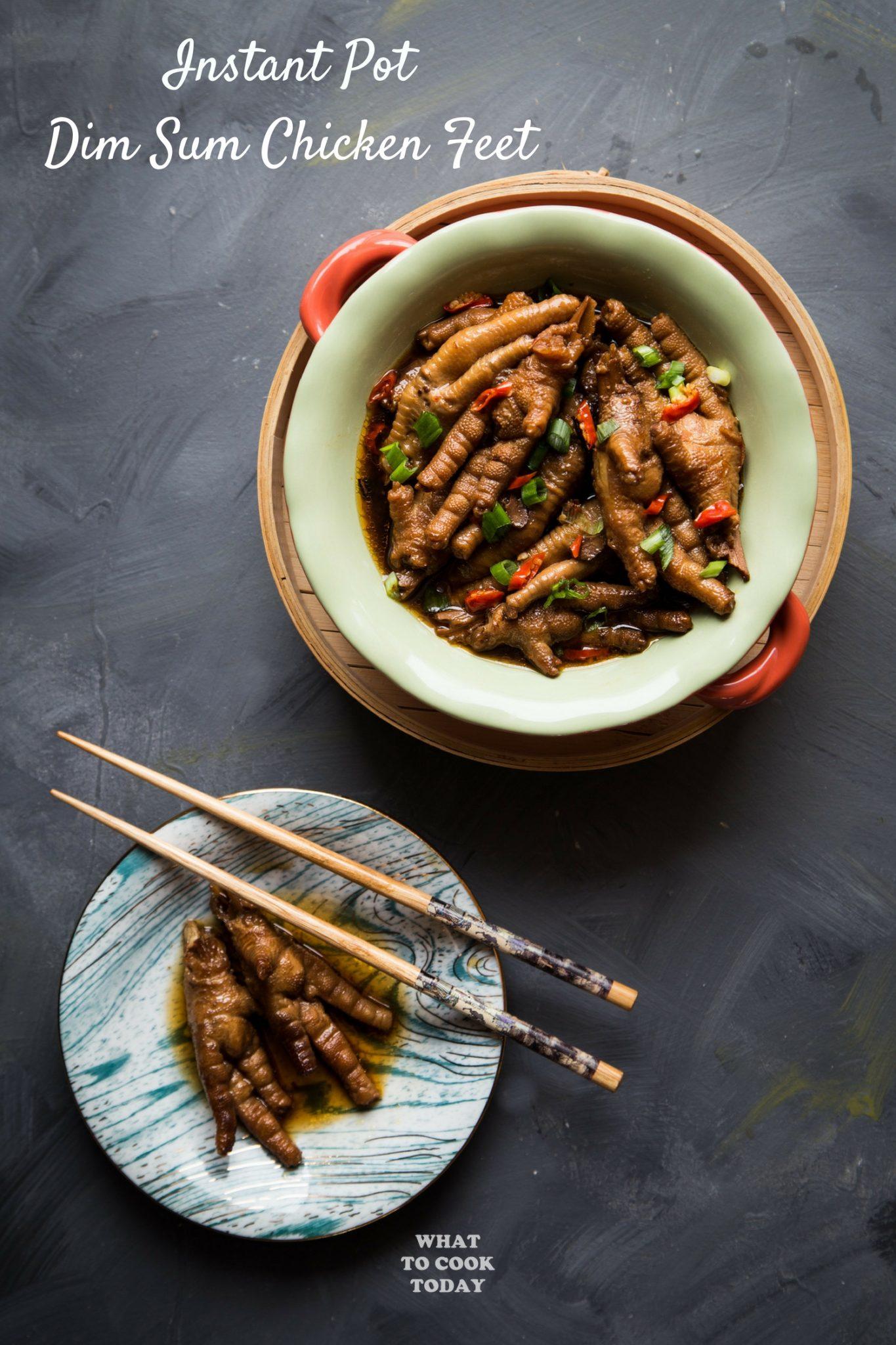 Pressure Cooker Chicken Feet Dim Sum (Ceker Ayam Dim Sum) #instantpot #instantpotrecipes #chickenfeet #dimsum