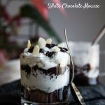 Coconut Black Sticky Rice with White Chocolate Mousse