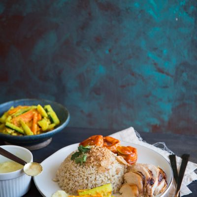 Nasi Hainam Medan / Medan-style Hainanese Chicken Rice