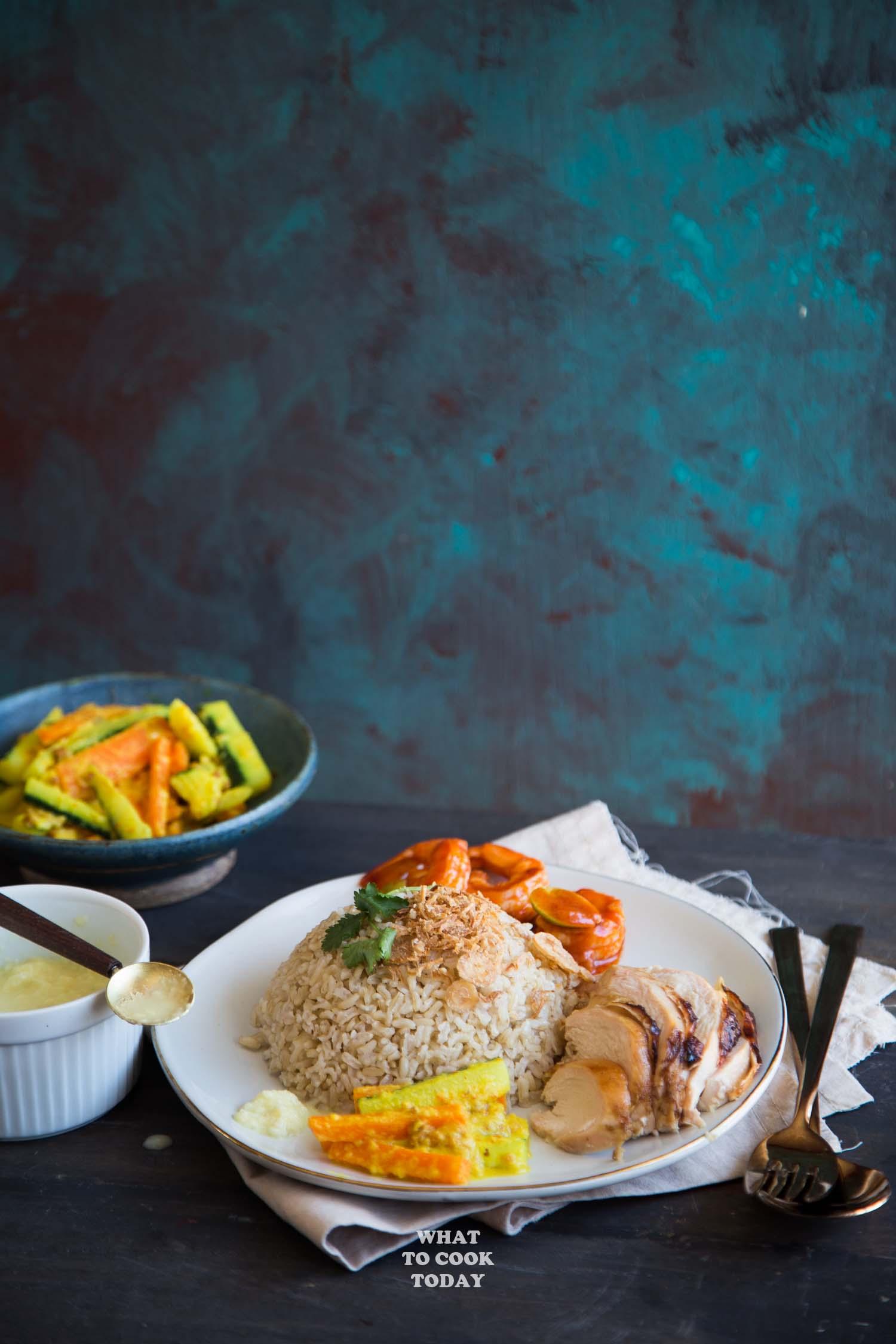 Nasi Hainam Medan / Medan-style Hainanese Chicken Rice #chickenrice #hainanese #medanfood