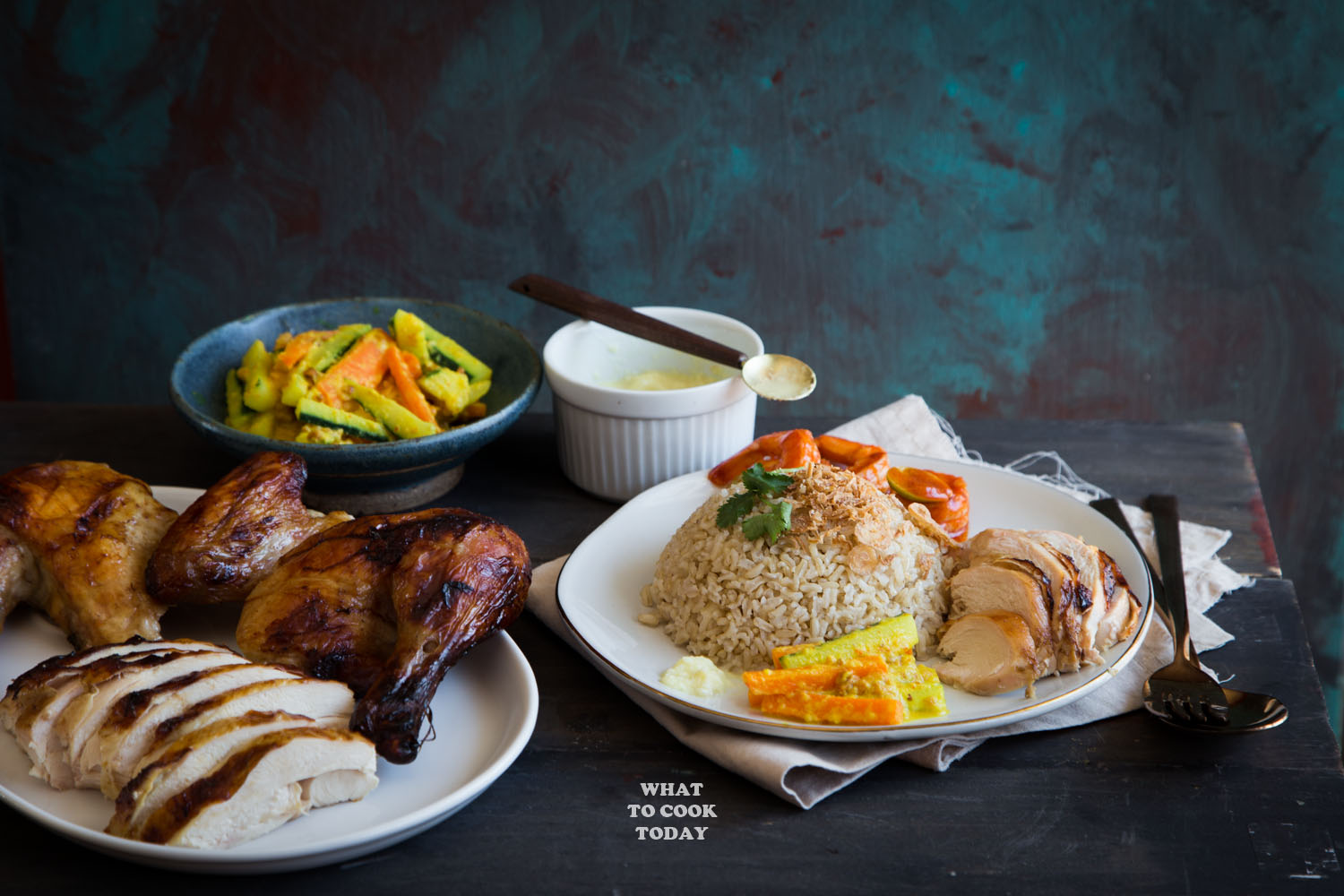 how to cook hainanese chicken rice video