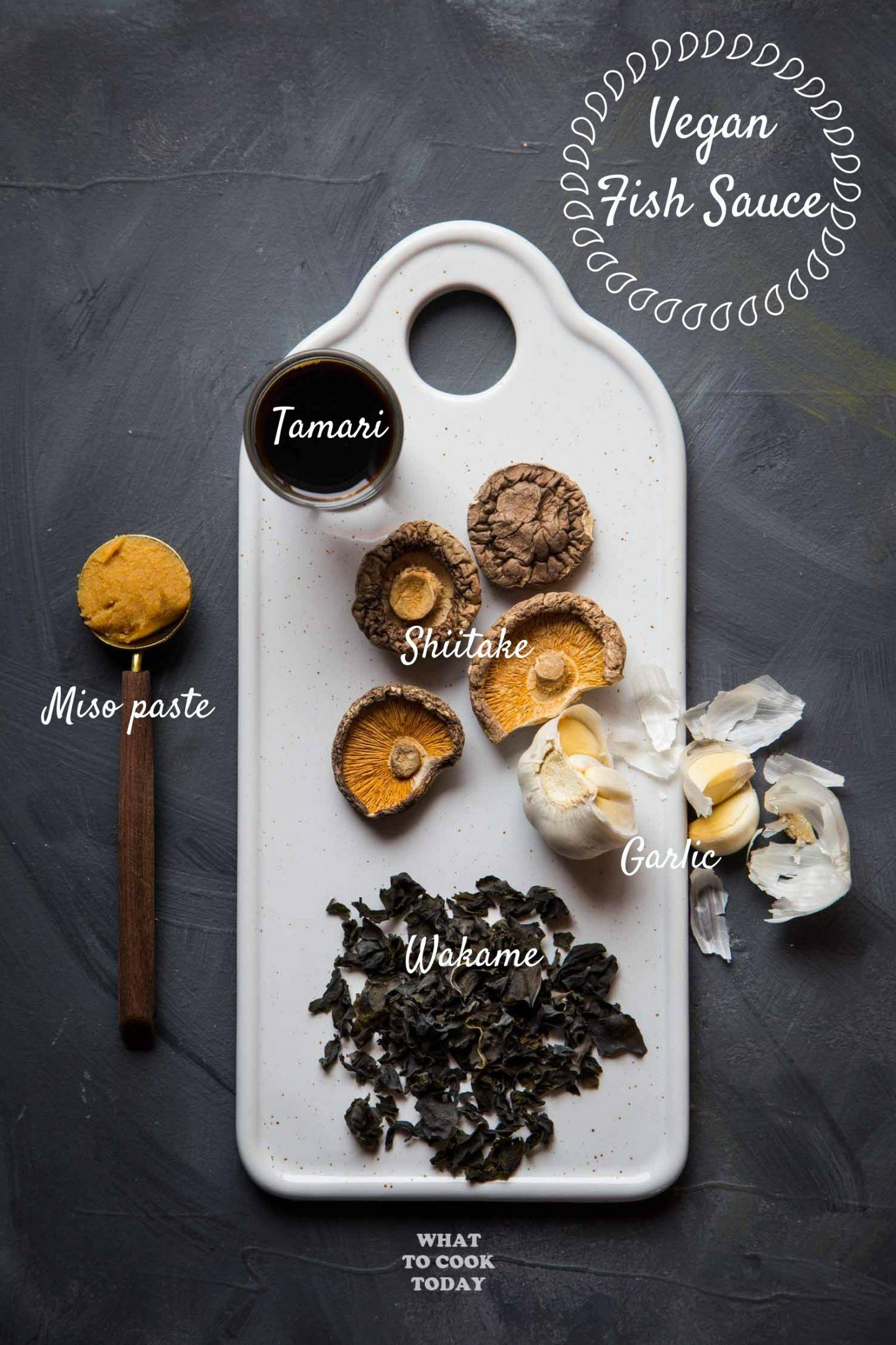 How To Make Vegan Fish Sauce #glutenfree #vegan #fishsauce #umami