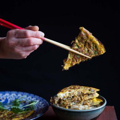 Chai Poh Neng (Preserved Radish Omelet)